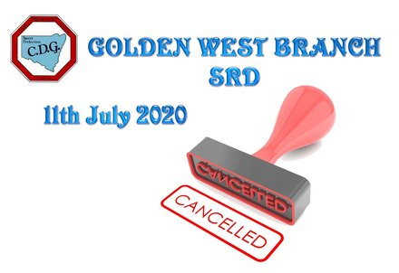 Cancelled CDG Golden West branch SRD